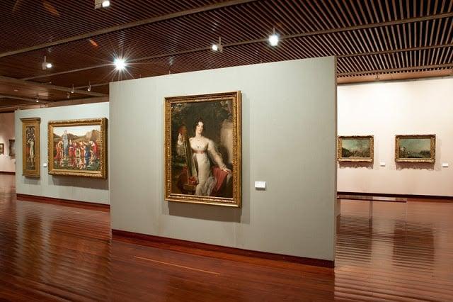 Colección de pinturas del Museo Calouste en Lisboa