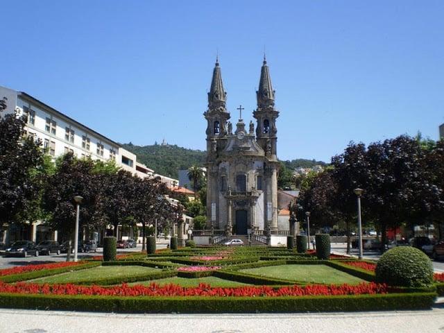 Iglesia Nossa Senhora da Consolação en Guimarães