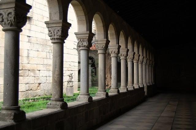 Claustro del Museo Alberto Sampaio en Guimarães