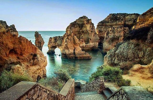Ciudad de Lagos en Algarve