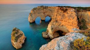 Playa Marinha en Algarve