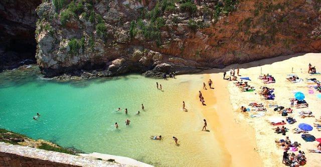 Playa en Algarve