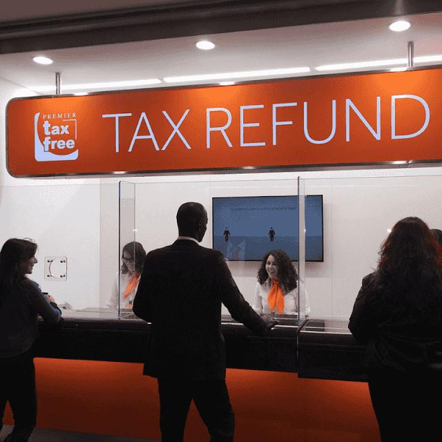 Tax Refund en el aeropuerto