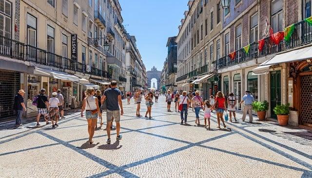 Compras en Lisboa - Rua Augusta
