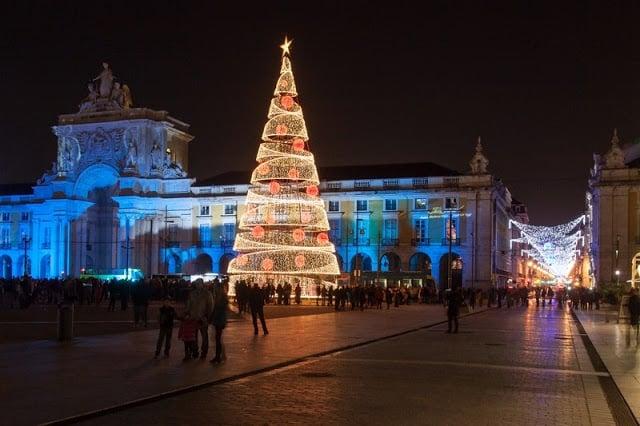 Época de Navidad en Lisboa