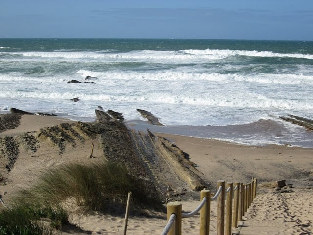Vista de la Praia da Cresmina