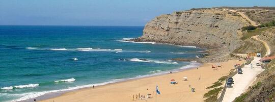 Praia Azul de Oporto en Portugal
