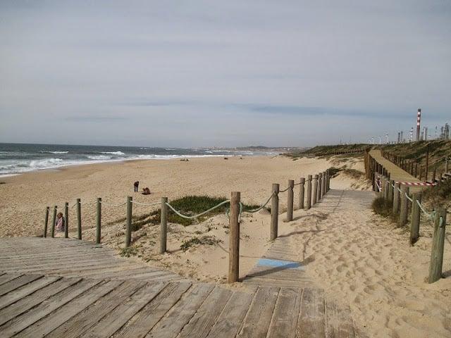 Praia do Aterro en Oporto en Portugal