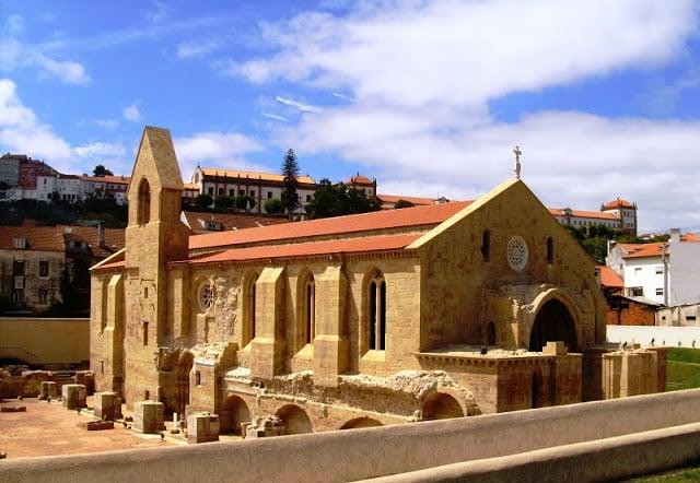 Monasterio de Santa Clara a Velha en Coimbra