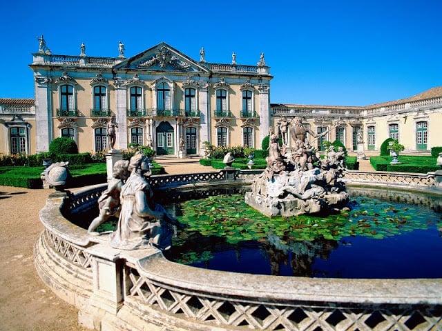 Palacio de Queluz en Sintra