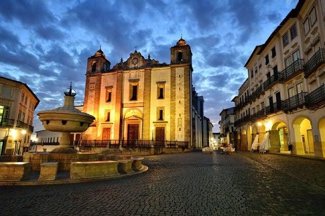 Itinerario de dos días en Évora