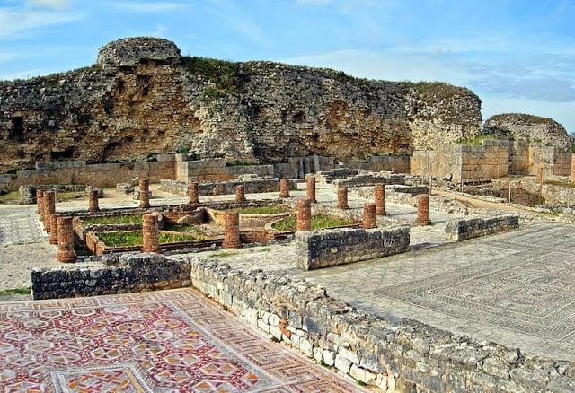 Ruinas de Conímbriga en Portugal
