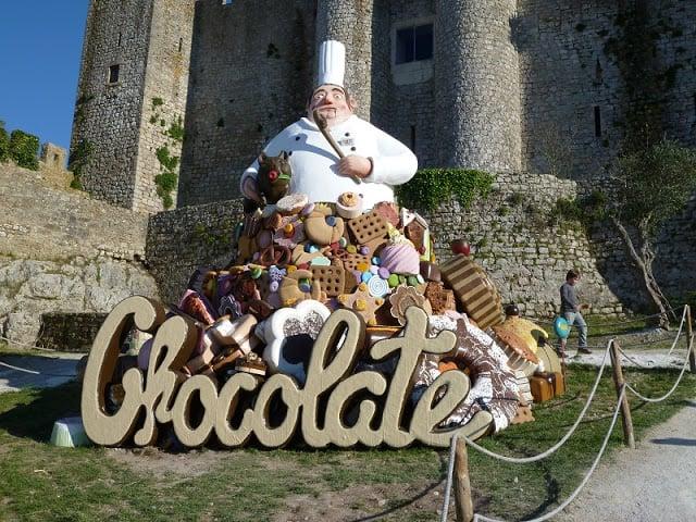Festival Internacional de Chocolate en la Villa de Óbidos