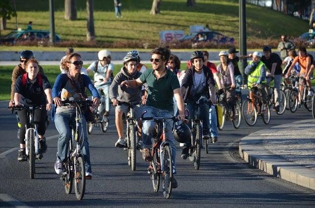 Recorrido en bicicleta por Lisboa