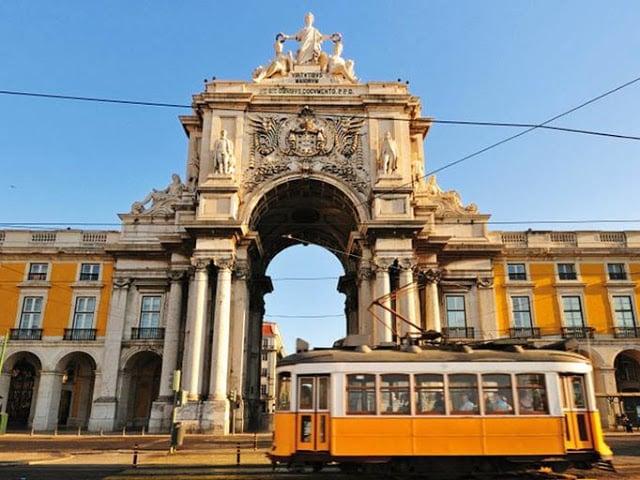 Paseo en tranvía en Lisboa