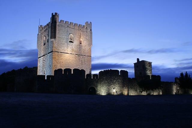 Castelo de Braganza en Portugal