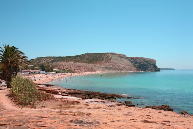 Praia da Luz en Algarve