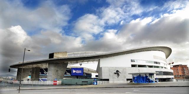 Estadio do Dragão en Oporto
