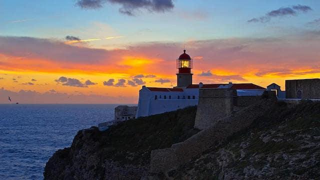 Cabo de San Vicente en Algarve