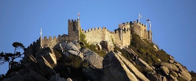 Castillo de los Moros en Sintra