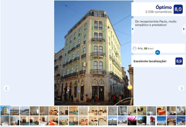 Pension London en Lisboa