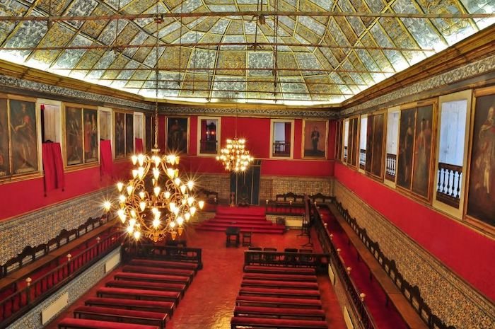 Visita a la Biblioteca Joanina de Coimbra