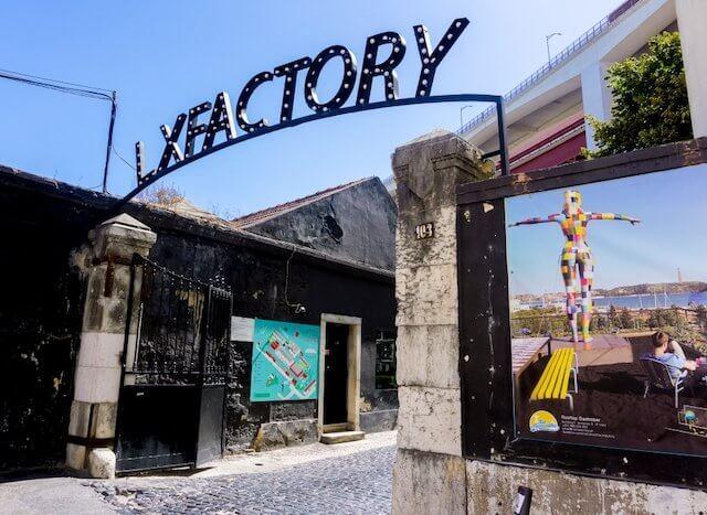 Lx Factory en Lisboa