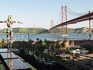 Vista de Rio Maravilla en Lisboa
