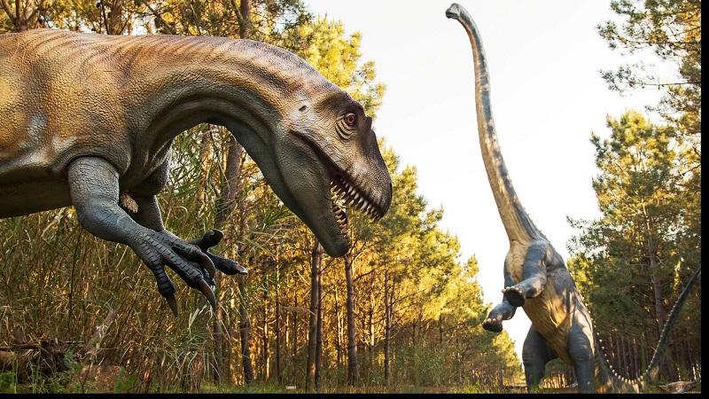 Museo de dinosaurios Dino Park en Portugal